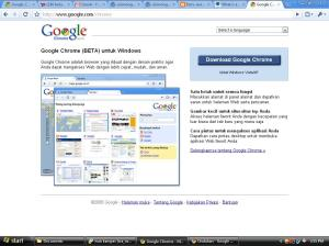google-chrome-download page